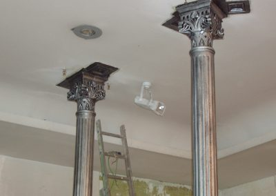 Detalle columna