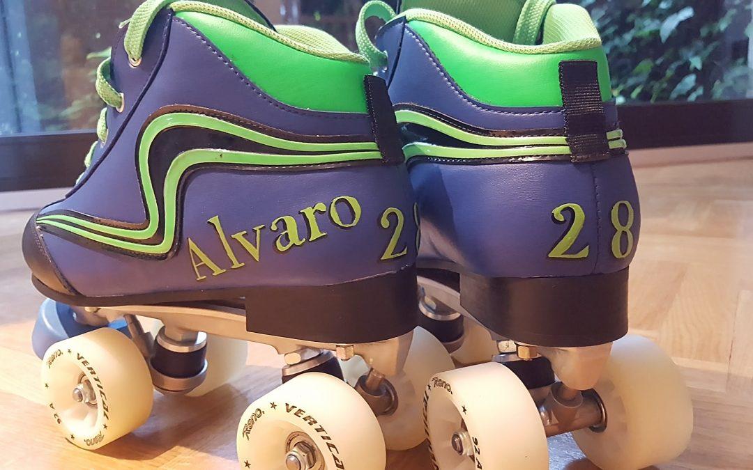 Los patines de Álvaro